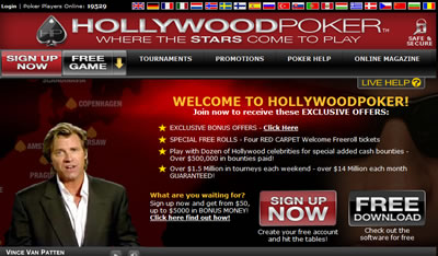 Hollywood Online Poker