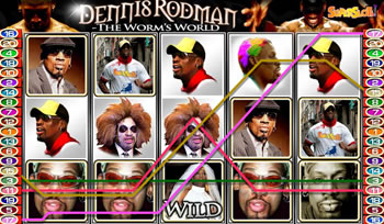 Dennis Rodman™ Slot Machine Game to Play Free in Playtechs Online Casinos