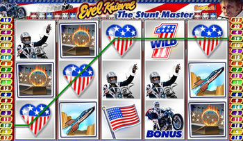 Evel Knievel Online Slots