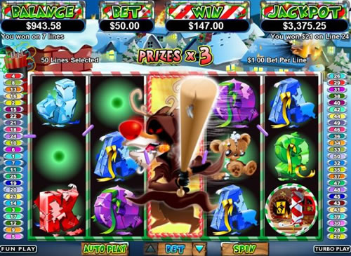Return of the Rudolph Online Slots