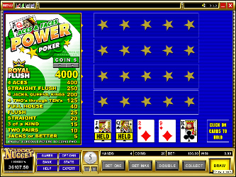 Ases e Caras 4 Mano Video Poker