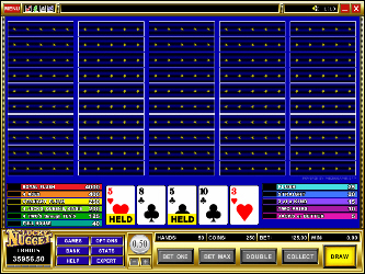 Ases e Caras 50 Mano Video Poker