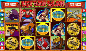 High Noon Saloon Online Slots