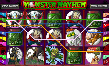 Monster Mayhem Online Slots