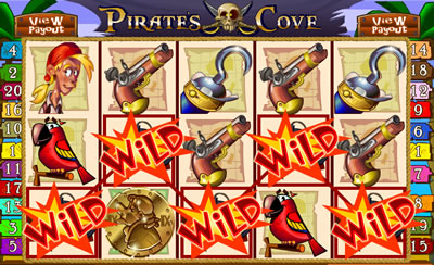 Pirate's Cove Online Slots