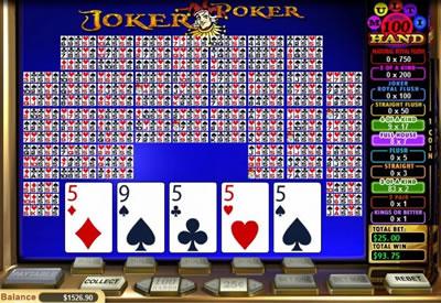 Joker Poker Multi-Hand Video Poker