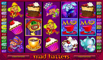 Mad Hatters Online Slot