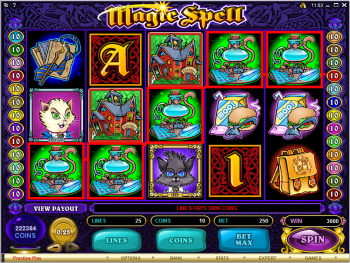 Magic Spell Online Slots