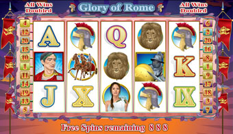 Glory of Rome Online Slot