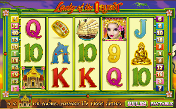 Lady of the Orient Online Slot