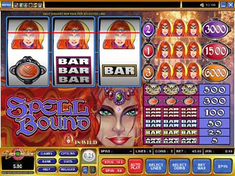 Spellbound Reel Slot