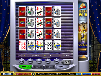 Deuces Wild 4-Hand Online-Video-Poker