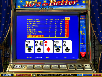 Tens or Better Video-Poker