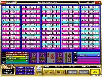Deuces & Joker 50-Hand Online-Video-Poker