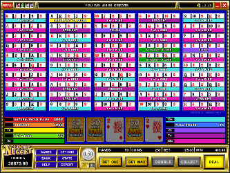 Deuces Wild 50-Hand Online-Video-Poker