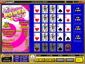 Double Joker 4-Hand Online-Video-Poker