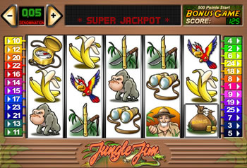Jungle Jim Online Slots