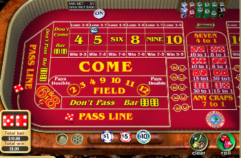 crap casino game
