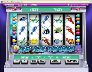 Deep Blue Treasure Slots