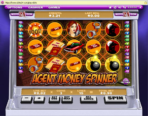 Agent Money Spinner Slots