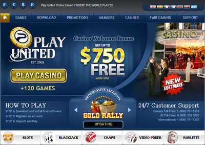Play United Online Casino