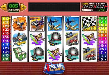 Extreme Games Online Slots