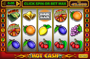 Hot Cash Online Slots