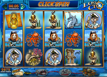 Lost City Online Slots