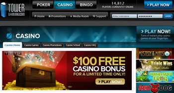 Tower Gaming Online Casino