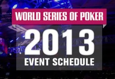 WSOP Announces 2013 Tournament Dates and Updates