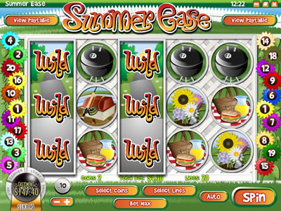 Play Summer Ease slot game now!