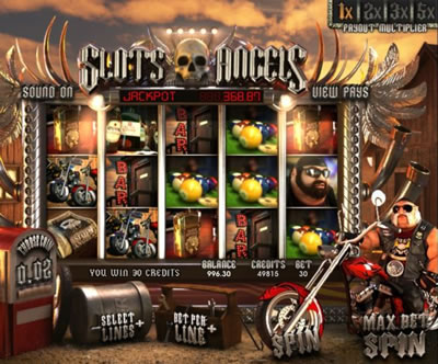 Play Slots Angels slot game now!