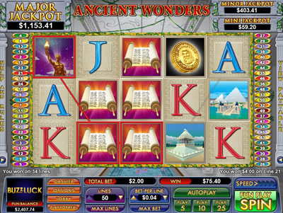 Ancient Wonders Slot