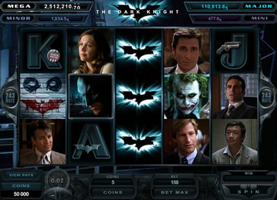Play these Dark Knight slots for free today!