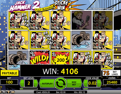Jack Hammer 2 Fishy Business Slots