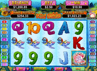 Ocean Oddities Slot