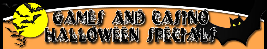 Games and Casino Halloween Specials