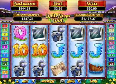 Loch Ness Monster Slot - Play for Free Online Today