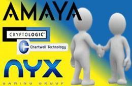 Amaya nyx cryptologic chartwell software deal