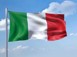 Italy gambling flag
