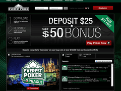 Everest poker home