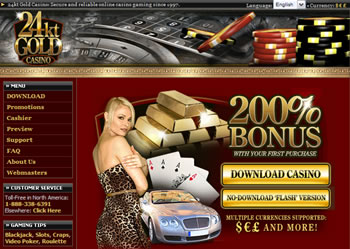 24kt Gold Casino