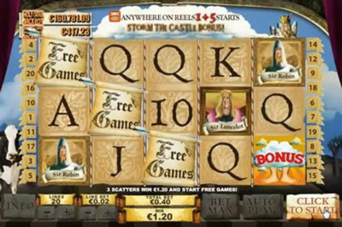 Monty Pythons Spamalot Slot Machine - Play for Free Now