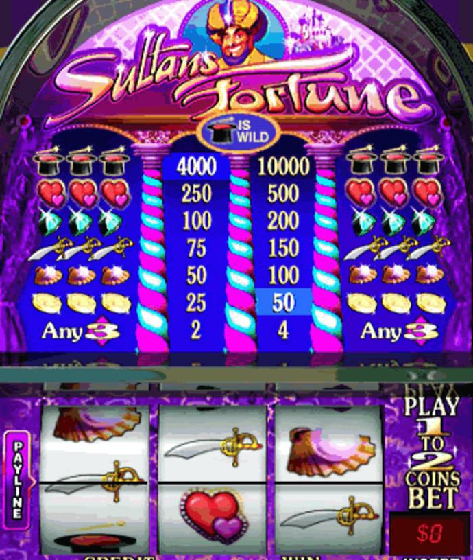 Play Sultans Fortune Slots Online at Casino.com NZ