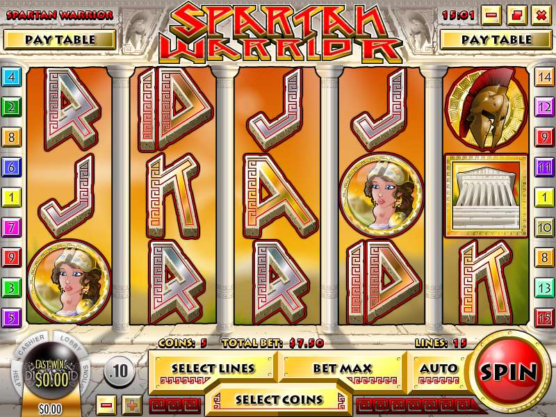 Spartan Warrior Slots - Play the Online Slot for Free