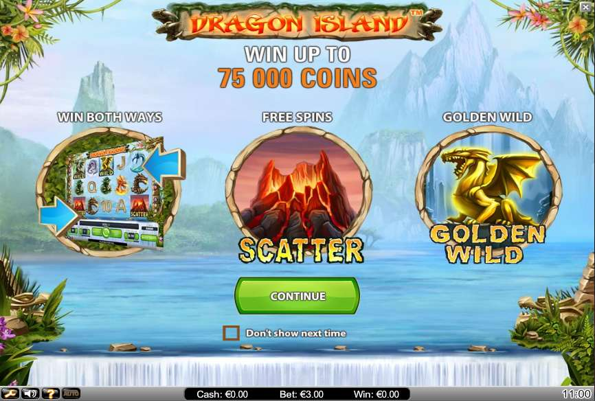 sands online casino dragon island