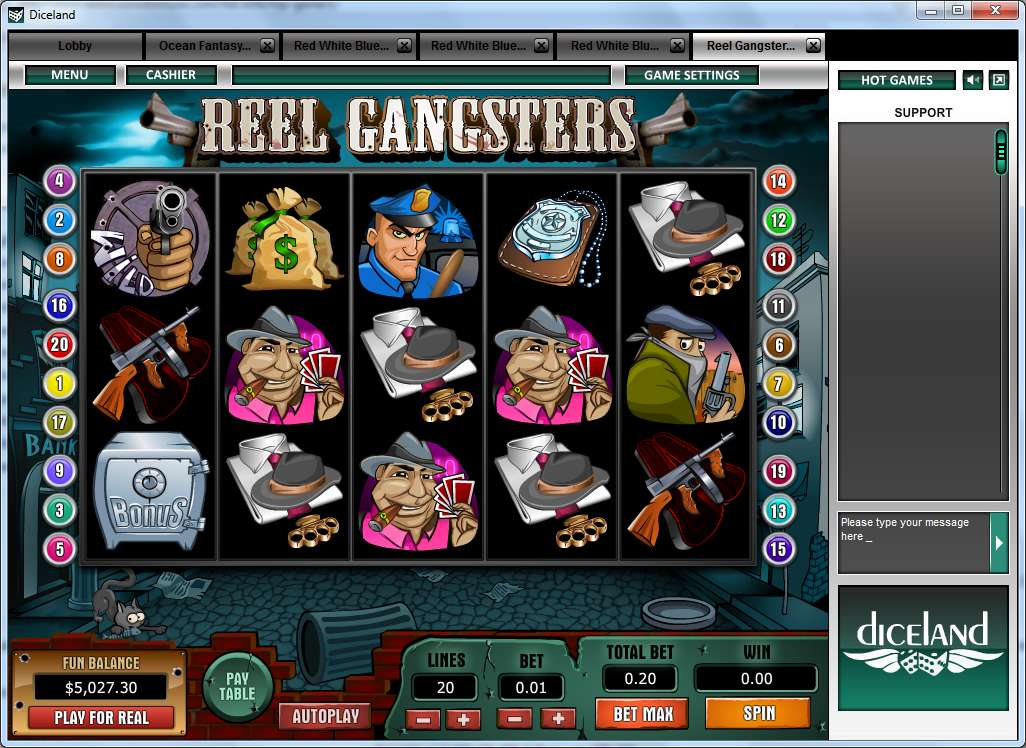 online casino slot cops and robbers slots