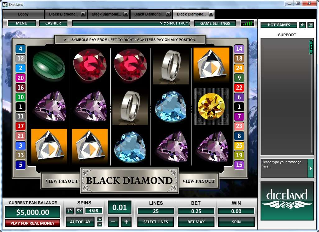 Black Diamond 3 Reels Slot Machine Online ᐈ Pragmatic Play™ Casino Slots