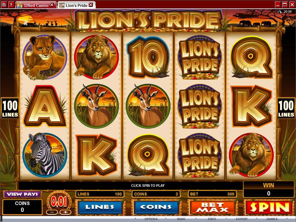 King of the Pride™ Slot Machine Game to Play Free in Mazoomas Online Casinos