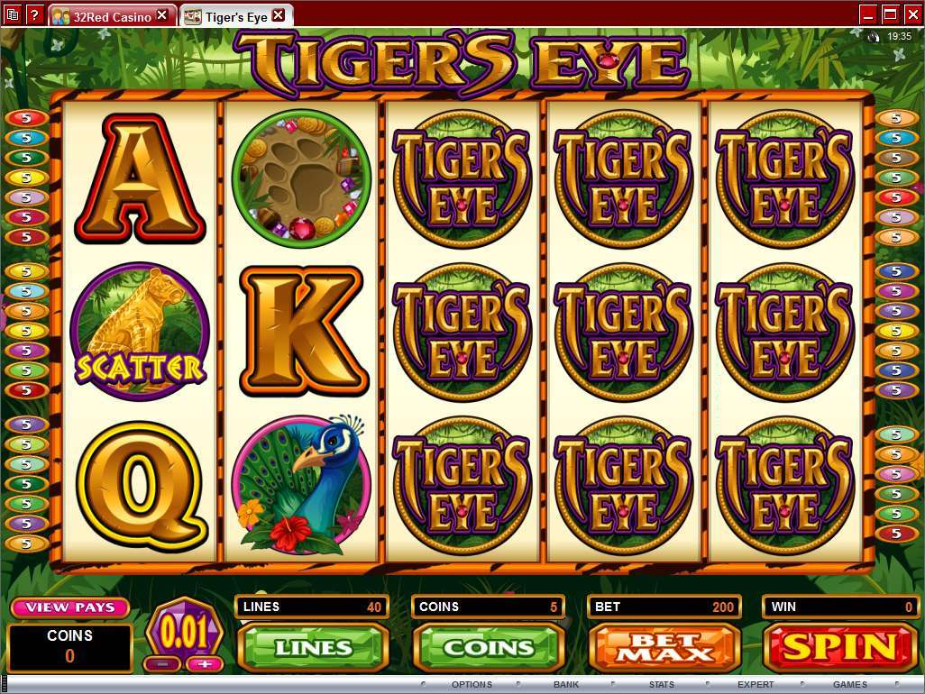 Tiger Titan Slots - Play this Game for Free Online